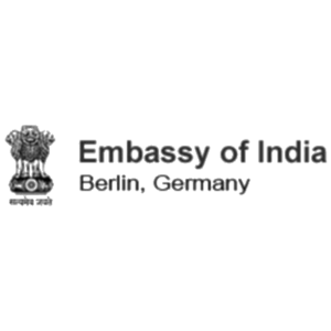 Embassy of india Logo Referenzen Firmen