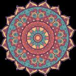 Amrit Berlin indisches Restaurant Mandala Stern bunt