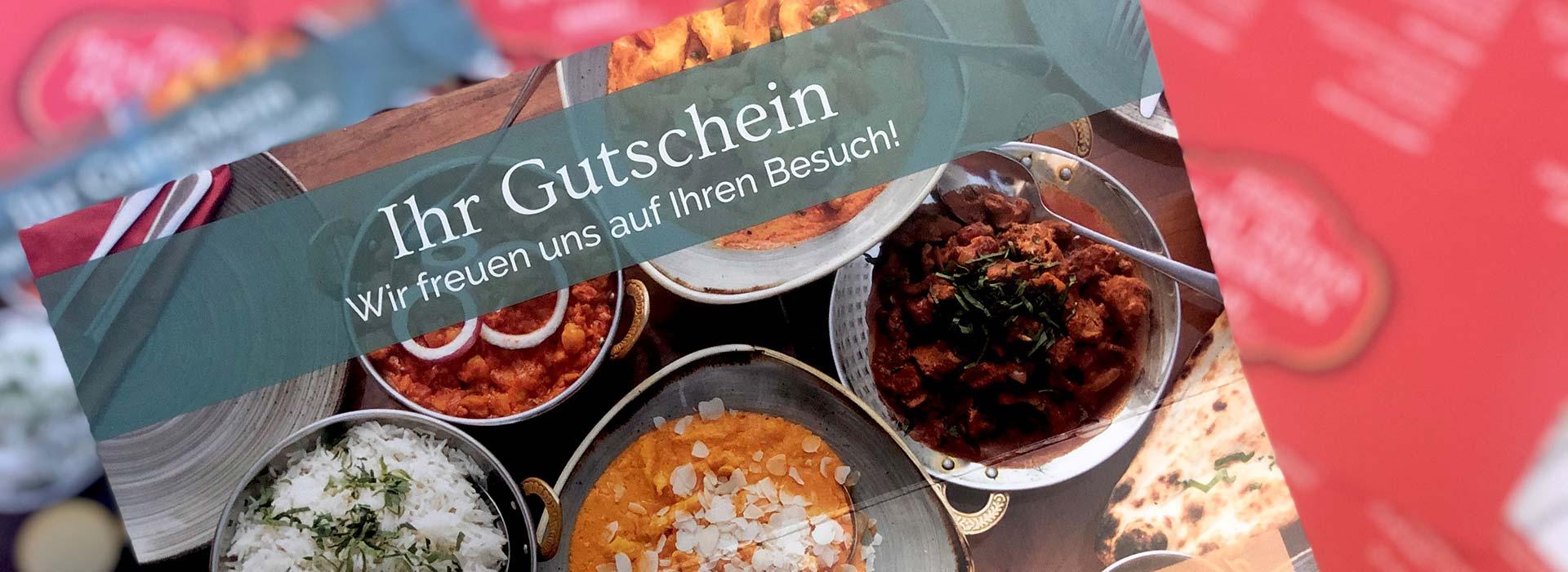 Amrit Gutschein Banner