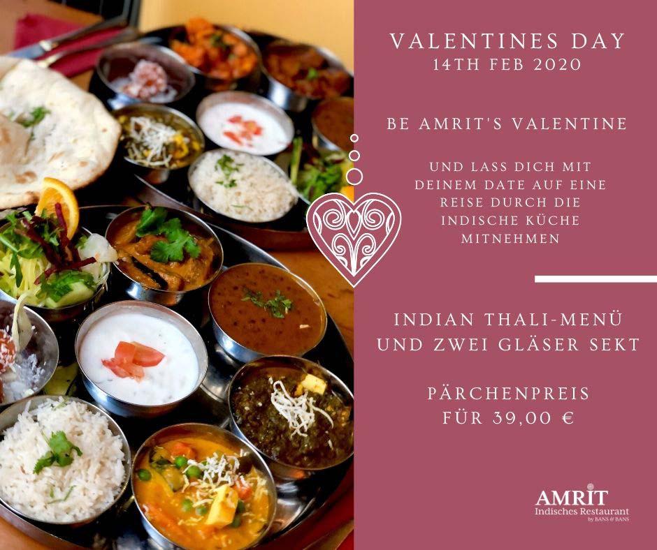 Amrit Valentinstag Berlin Flyer