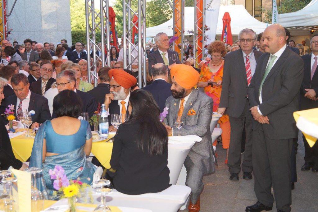 Amrit Berlin indisches Restaurant Silvester Stallwächterparty Gäste