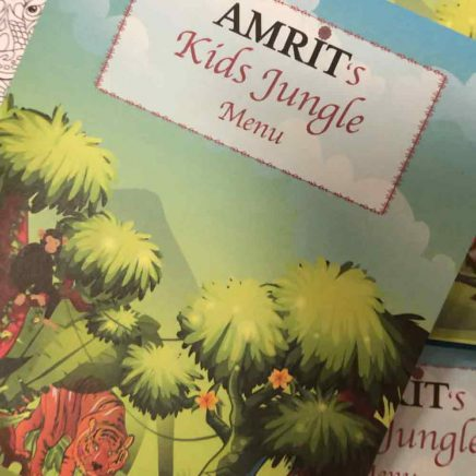 Amrit Berlin Kinder Spezial Angebot Malbuch Cover
